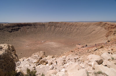 Click for Larger Image of Meteor Crater