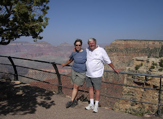 ZoAnn and John at the Grand Canyon