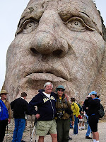 Click for Larger Image of Crazy Horse's Face