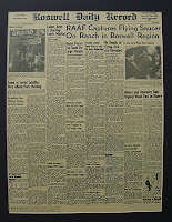 Click for Larger Image of Newspaper Article