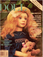 Contemporary Doll Magazine, a publication, featuring the Prof. Doll Makers Art Guild at NY Toy Fair