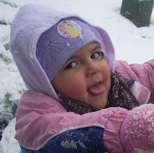 amy in the snow