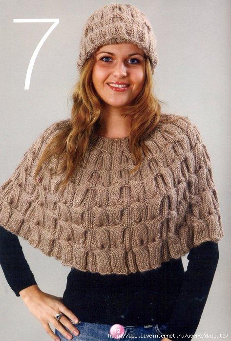 Blogspot con ponchos tejidos - Imagui