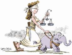 La Justicia ciega y la Ley de Costas Demoledora