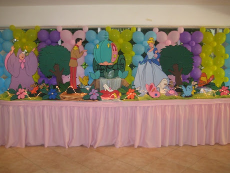 Decoracion La Cenicienta