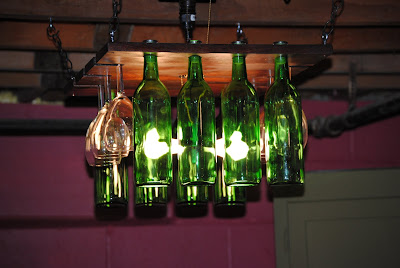 Schram vineyards winery brewery waconia mn the wine for How to make your own wine bottle chandelier