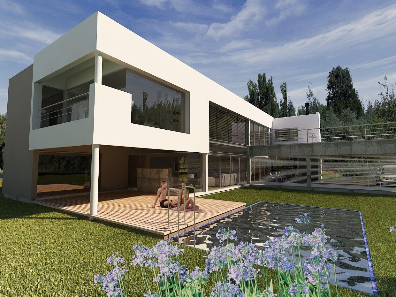 Arquitectura Digital 3d Exteriores
