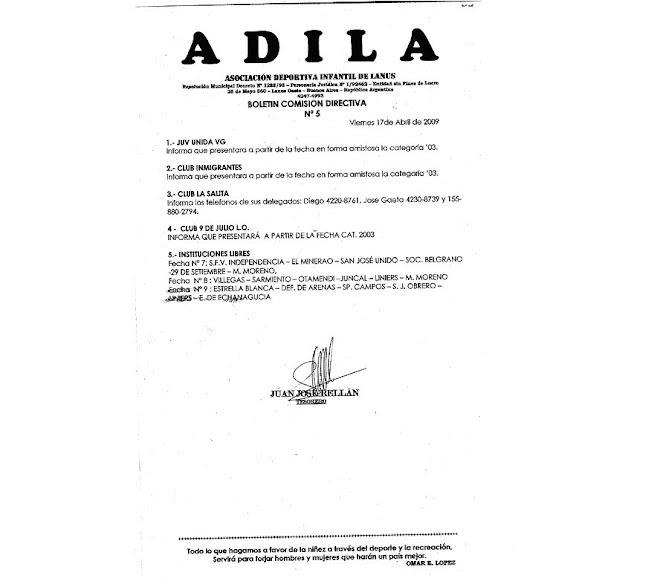 Boletin Oficial N°5