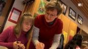 Behinderte Kinder in Schulklassen - Die Diskussion in der Schweiz mit Video der Rundschau SF1 24. Februar 2010, Arbeit Beruf Schule Ausbildung, Behinderung Handicap, Diskriminierung Rassismus, Down Syndrom, Down-Syndrome, Extrachromosom, Kind, Integration integrativ, Politik Gesetz Recht, Schweiz,
