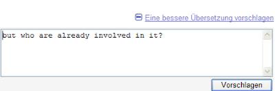 Google Translator Sprachtool