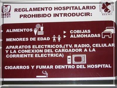 Regeln Hospital gebrochen