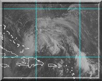 Hurrikan Hanna, Satellitenbild, 31. August 2008, Hurrikansaison 2008, Hurricane, Sturm, storm, tormenta, Zyklon, Mexiko, Mexico, Tropische Depression, Sturm, Prognose, Zugbahn, Pazifik, Atlantik, forecast, Vorhersage