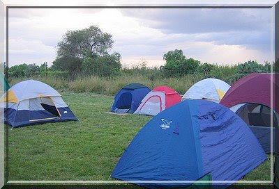 Zelte, zelten, camping, Mexiko, Aguascalientes