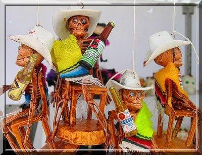 Día de los Muertos, Mexiko, Skelette