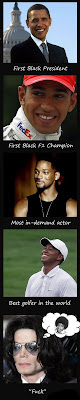 Michael Jackson, Barack Obama, Tiger Woods, Will Smith, Parodie