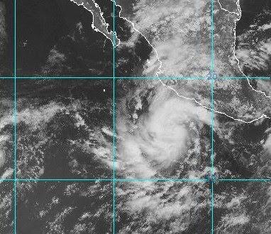 Pazifik, Sturm, Wetter Mexiko, Hurrikansaison 2009, Hurrikansaison 2009 Pazifik aktuell: Hurrikan JIMENA vor Mexikos Westküste
