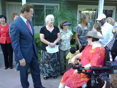 Nachtrag zu Arnold Schwarzenegger und den Regency Court Apartments