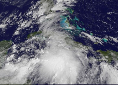 Atlantik aktuell: Tropisches Tief 16 (potenziell Tropischer Sturm NICOLE) über Kuba auf dem Weg nach Florida und North- und South Carolina (USA), 2010, aktuell, Atlantik, Bahamas, Hurrikansaison 2010, Hurrikanfotos, Karibik, Kuba, Live Stream Satellitenbild, NASA, Nicole, North Carolina, USA, Video Stream, Vorhersage Forecast Prognose, Zugbahn, Virginia,