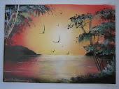 Akahi* Painting