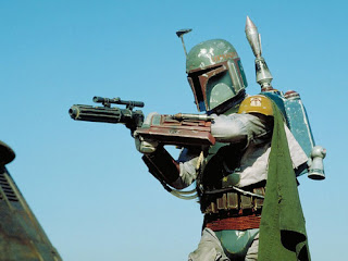 Nothing in any galaxy is more baller than Boba Fett.