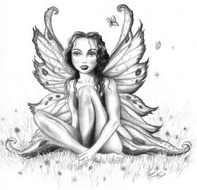 Dragon tattoo art design. Fairy tattoos are a great option for those seeking