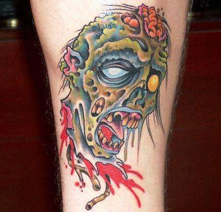 Zombie Pin-Up Girl Tattoo by ~sypreen on deviantART zombie girl tattoo