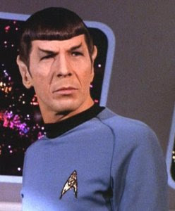 Leonard Nimoy in original Star Trek