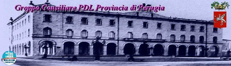 Gruppo Consiliare PDL Provincia di Perugia