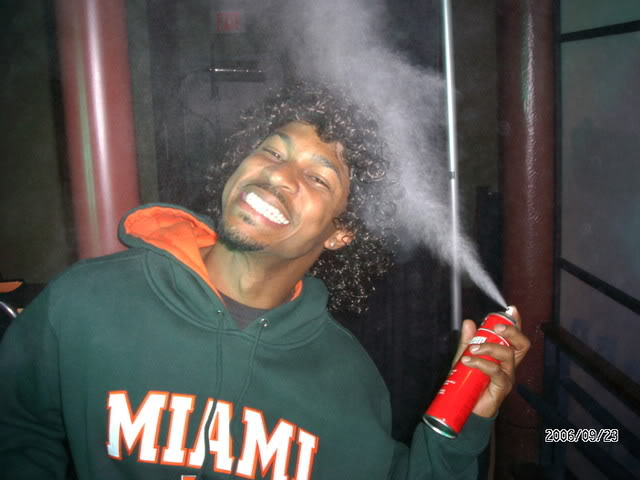 jheri curl hairstyle. Jheri curl juice, that is.