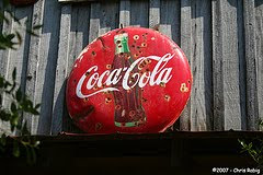 coca cola sign in africa