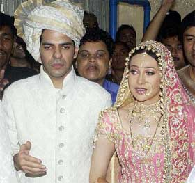 Karishma Kapoor-Marriage Pics