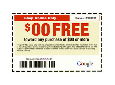 Google Coupons