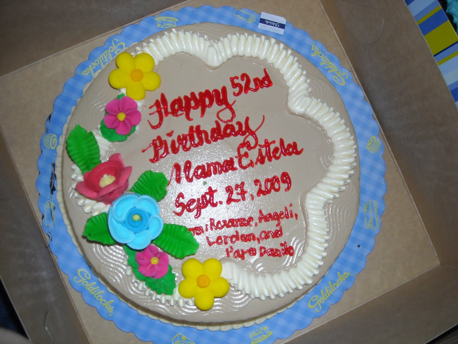 Goldilocks Cake Design For Christening : Simple Yet Rock: Pagbabago