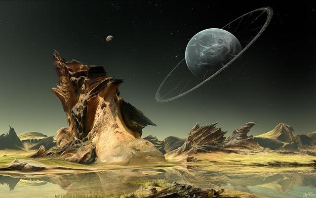 fondos wallpaper de escritorio de planetas y estrellas