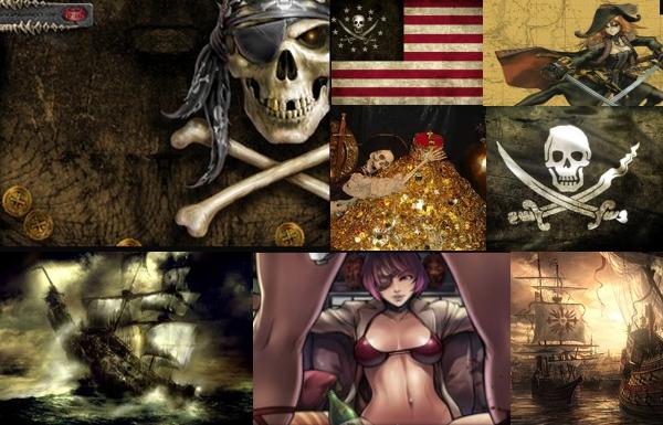 Wallpapers de  Piratas del caribe, alta mar