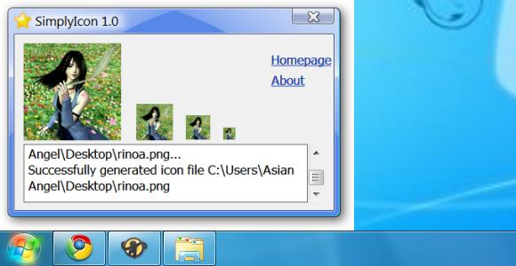 Crear iconos de la manera fácil con SimplyIcon