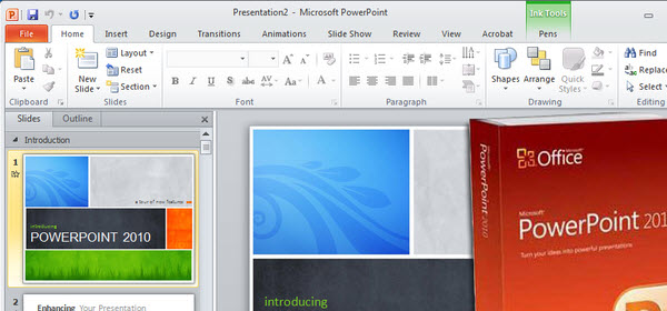 pasar ppt Power Point a Flash