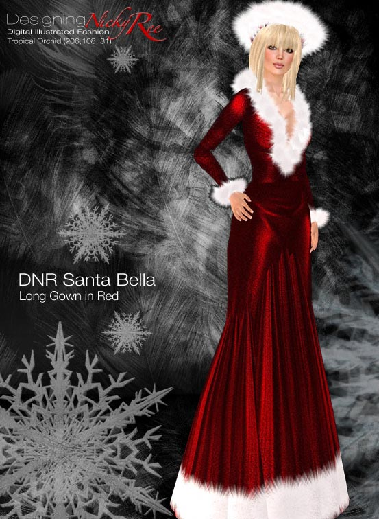Colorful Santa Gown Model - Best Evening Gown Inspiration And Ideas ...