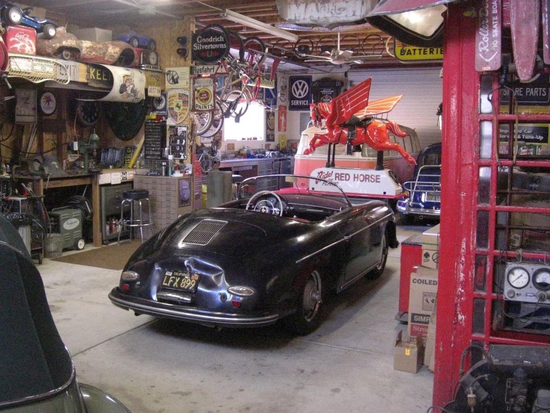 Man Cave Garage Porsche : Do camaro oficina air cooled