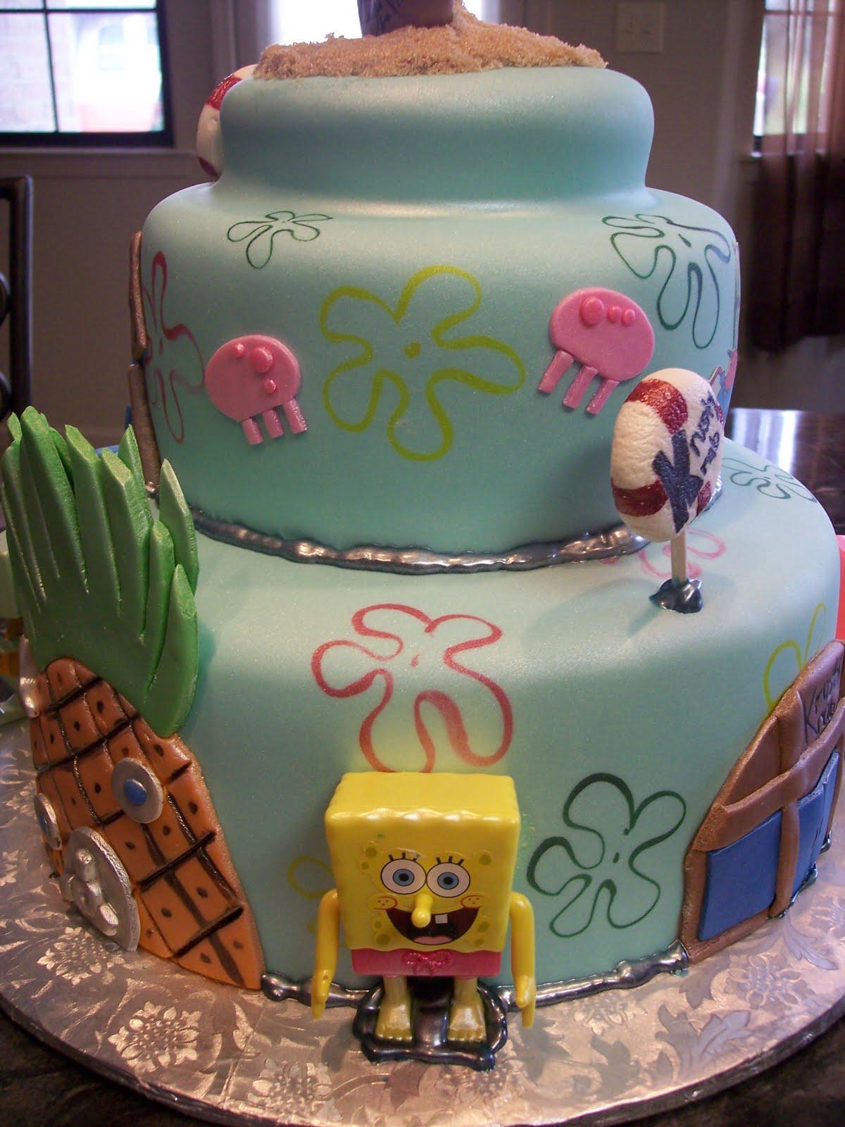Mymonicakes Spongebob Squarepants Bikini Bottom Cake