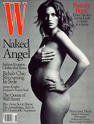 Celebrities Posing Nude While Pregnant