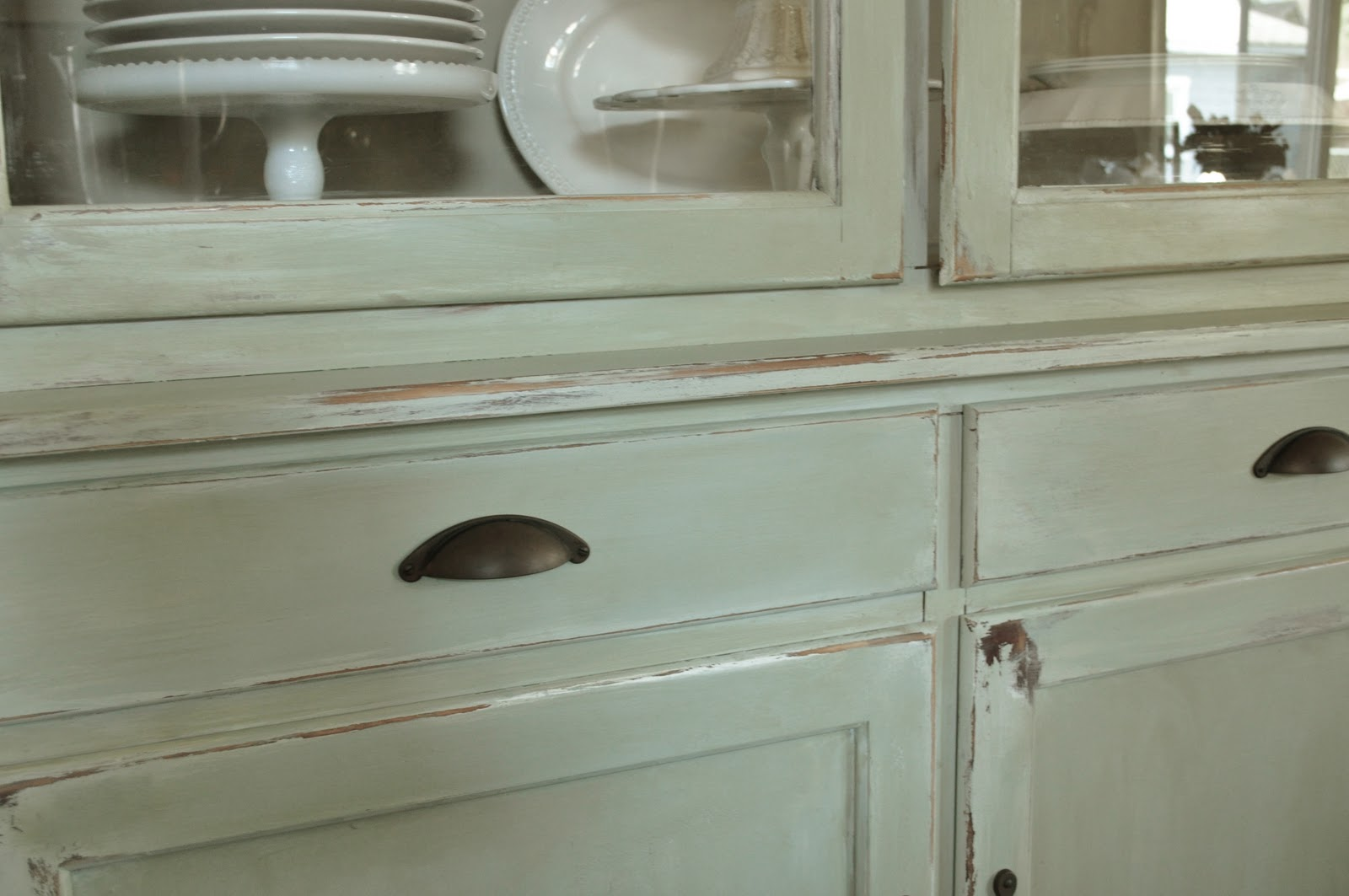 delightful How To Make Cabinets Look Old Part - 2: how to make a new peice of furinture look old with paint and distressing