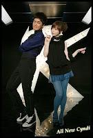 Kenji Wu Ke Qun and Cyndi Wang Xin Ling