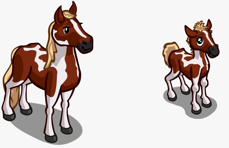 Awesome Farmville Horse #2: Farmville Unreleased Paint Horse U0026 Foal Unreleased Items Have No Official  Release Date Or Guarantee That They Will Make It To The FarmVille .