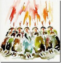 Retiro conociendo al Espiritu Santo Viento y Fuego