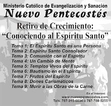 CDs Retiro de Crecimiento: Conociendo al Espíritu Santo Fase I   (9 predicaciones)