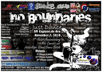 No Boundaries|Just Dance At SM CDO