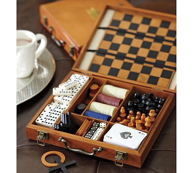 Gifts for the young at heart cashon co for Pottery barn poker table