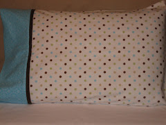 Polka Dot Fun Flannel Pillowcase