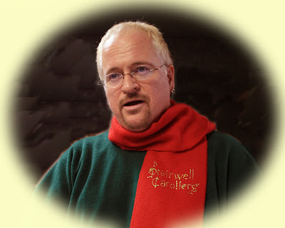 Pierre Massie, creator and director of the Stairwell Carollers